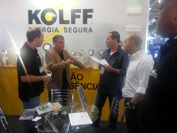 KOLFF participou do evento ISC 2013