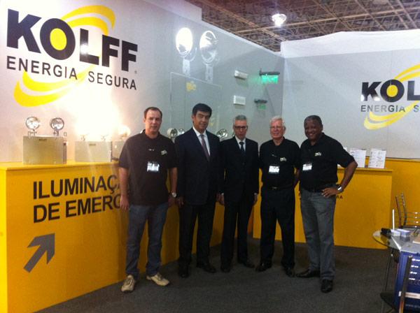 KOLFF participou maior encontro de Feiras no Brasil a FIEE